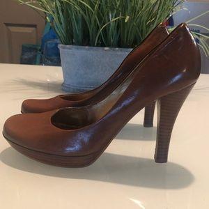 Guess Platform Leather Heels